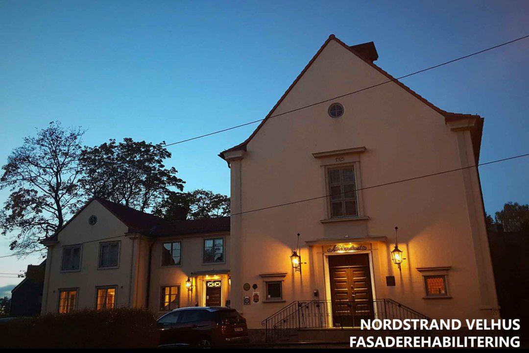 Nordstrand Velhus fasaderehabilitering
