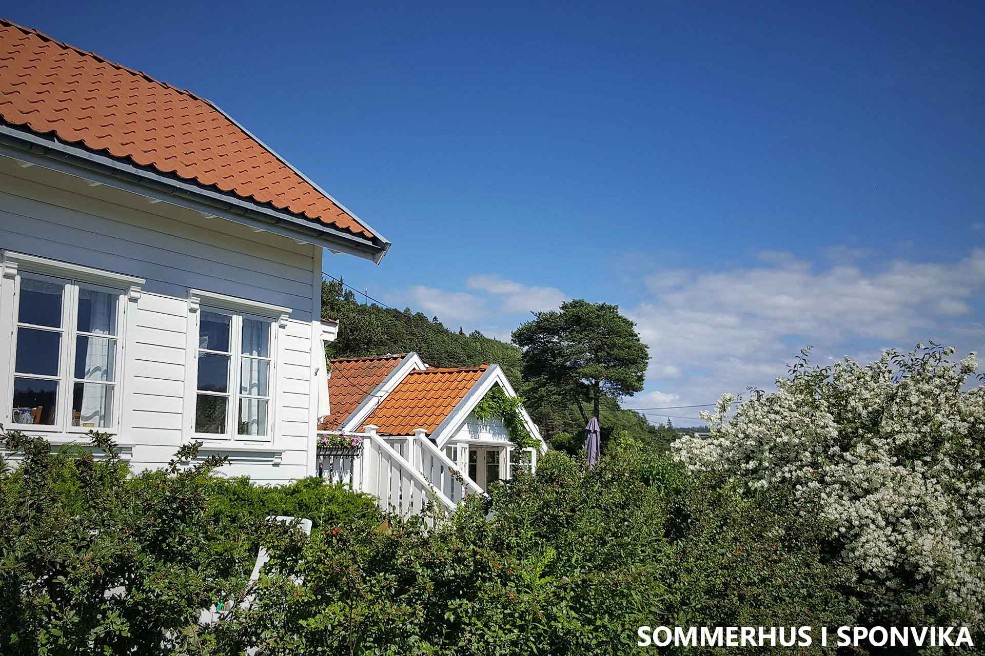 Sommerhus i Sponvika