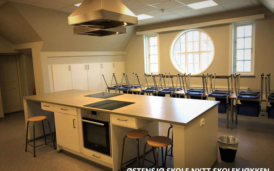 Østensjø skole nytt skolekjøkken