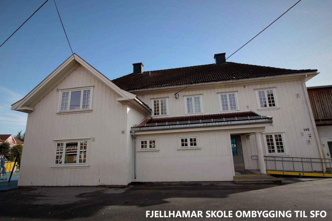 Fjellhamar skole ombygging til SFO